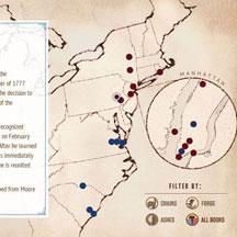 Timeline/Map