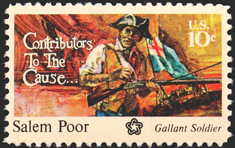 Salem Poor stamp